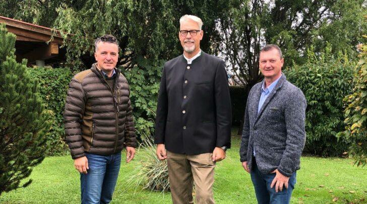 v.l.n.r.: Darmann, Pinter & Woschitz