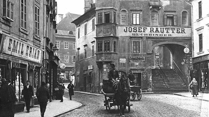 Früher war das Rautterhaus ein fixer Bestandteil des Villacher Hauptplatzes.