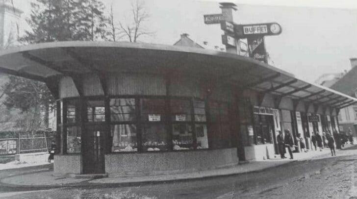 Das Rondeau diente lange Zeit als Autobusbahnhof