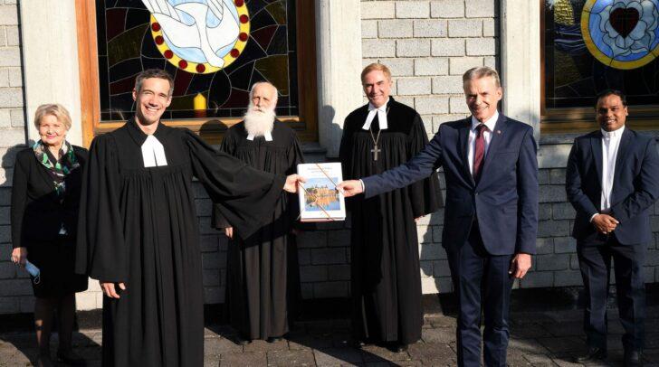Bei einem feierlichen Gottesdienst am letzten Sonntag wurde Dr Rainer Gugl in sein neues Amt eingeführt.