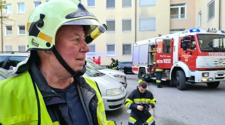 Horst Müller, Kommandant der FF Perau