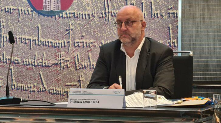 Am Bild: Vorstand der Stadtwerke Erwin Smole
