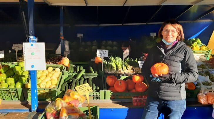 Bei Christine Behr findest du frisches, saisonales Gemüse in allen Farben.