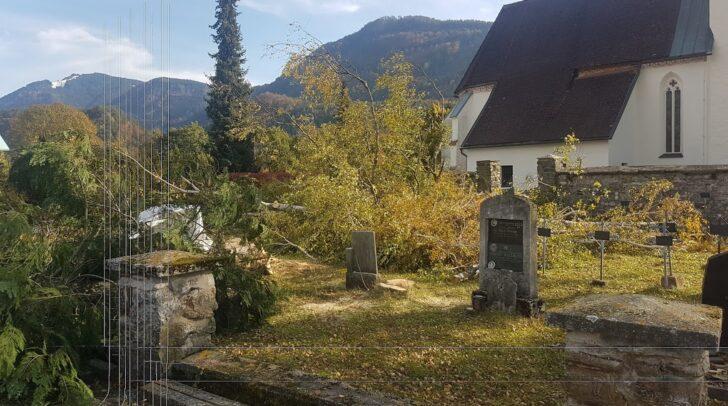 FPÖ-Gemeinderat Wolfgang Standner kritisiert das Vorgehen am Soldatenfriedhof in Thörl-Maglern.