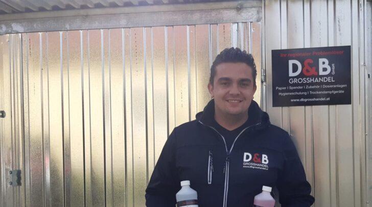 Mit einem Hygieneshop möchte Daniel Buglnig die Lieferzeiten weiter verkürzen.