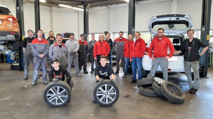 Bei den Reifenwechseltagen kümmern sich alle Eisner Werkstättenteams ausschließlich um eure Reifen!