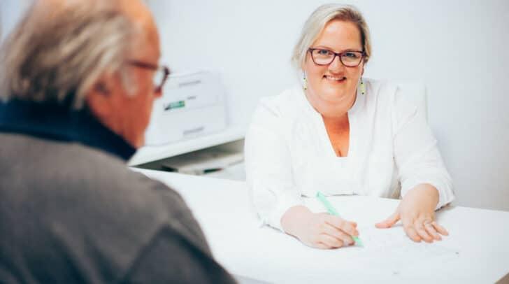 Dr. Birgit Groff nimmt sich ausreichend Zeit für ihre Patienten.