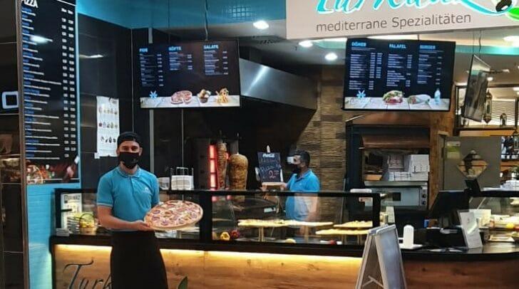 Yummie - nutze noch bis Ende November die Pizza-Aktion bei Turkuaz in den City-Arkaden.