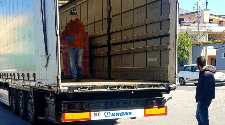 Die LKW-Fahrer von LHI sind in ganz Europa unterwegs und wichtige Lieferanten für den Handel.