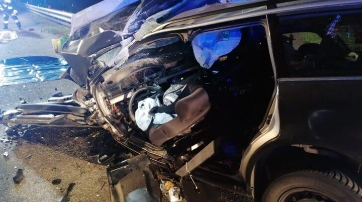 Die Lenkerin kam bei dem Unfall ums Leben.