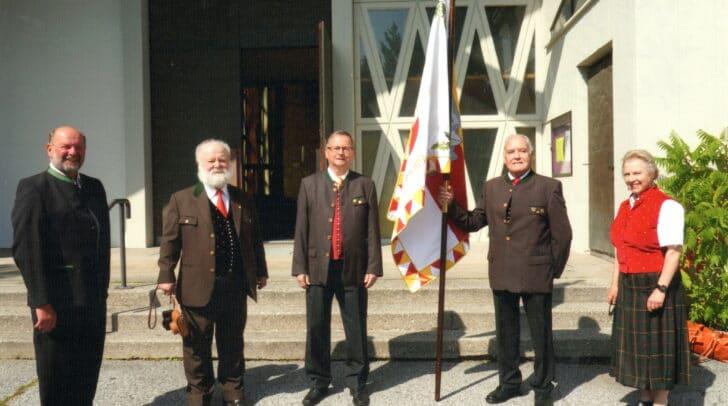 Am 11. September wurde die Fahne geweiht.