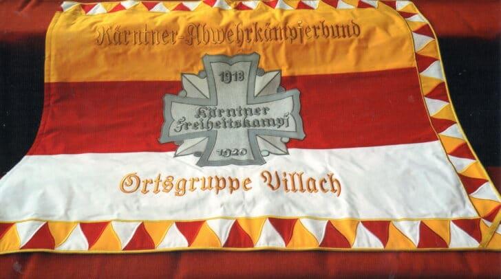 Die neue Flagge der Ortsgruppe Villach.