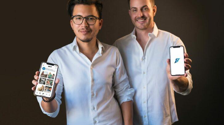 Dominik Kohl aus Villach und Kevin Schrattel aus Völkermarkt haben eine kostenlose Sport-App entwickelt.