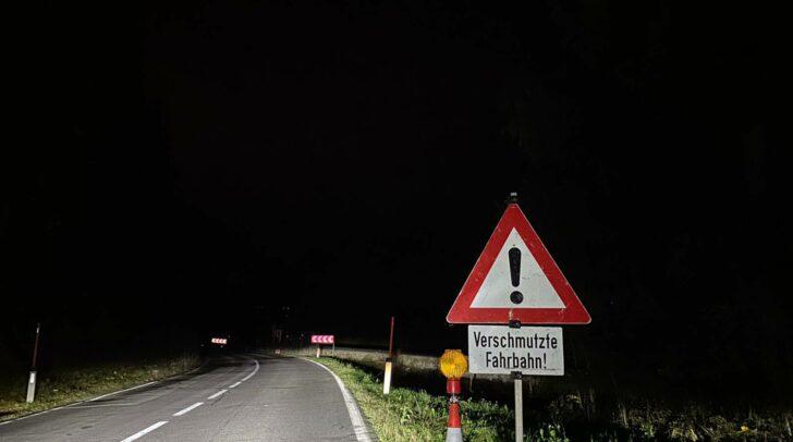 In diesem Bereich trug sich der tödliche Unfall zu.