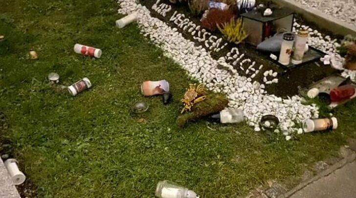 Insgesamt 31 Gräber wurden am Klagenfurter Friedhof zerstört.