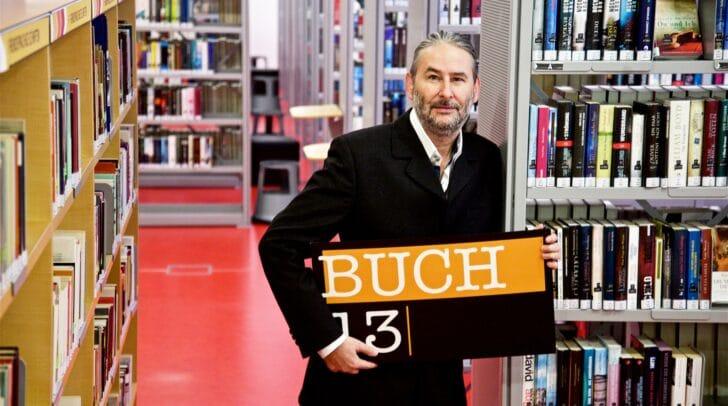 Gerald Eschenauer von Buch13 freut sich darüber, heuer einen Sonderpreis für Villacher Literatinnen und Literaten ausschreiben zu können.
