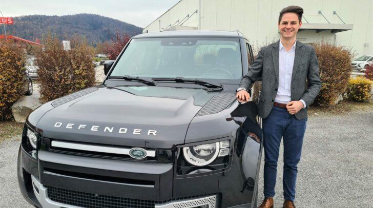 Stark und robust: So beschreibt Philipp Strasser den Land Rover.