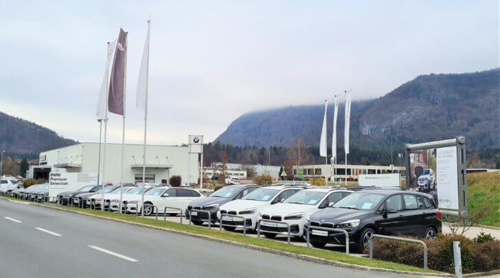 Bei AutoFrey in Villach findest du eine Vielzahl an Neu- und Gebrauchtfahrzeugen.