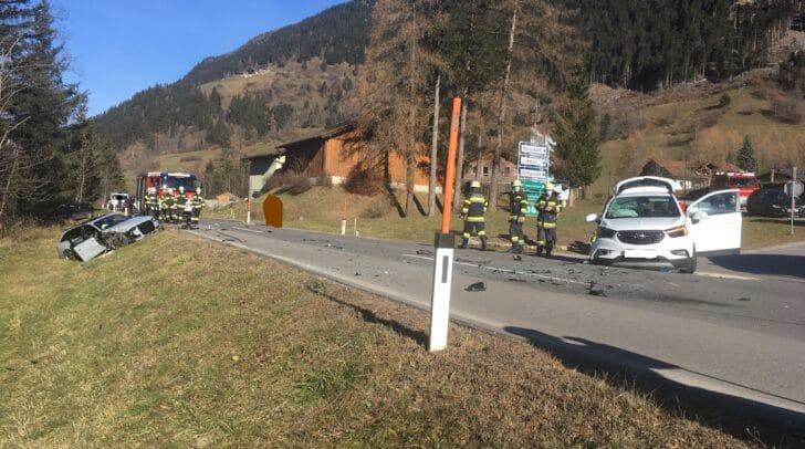 Die Freiwilligen Feuerwehren Heiligenblut, Großkirchheim, Mörtschach und Winklern standen im Einsatz.