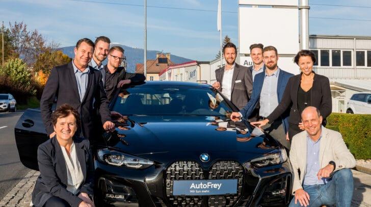 Das Team von AutoFrey ist immer für seine Kunden da.