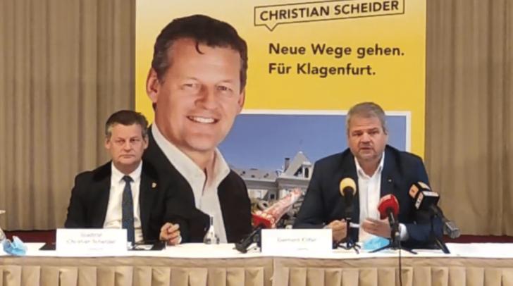 Bei der heutigen Pressekonferenz des Team Kärnten wurde Christian Scheider nun offiziell als Spitzenkandidat vorgestellt.