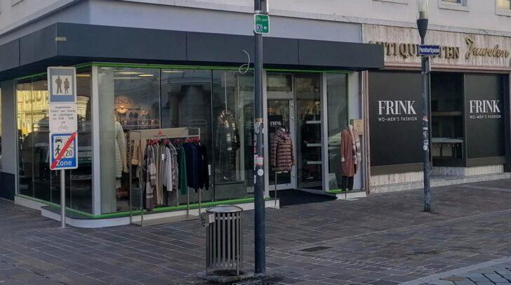 Seit kurzem ist Mode Frink in der Pernhartgasse 1, direkt am Neuen Platz zu finden.