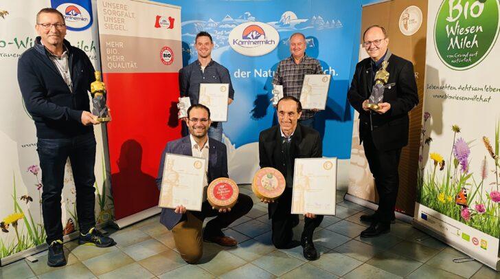 Der Kärntnermilch Chef Helmut Petschar freut sich über den Gewinn.