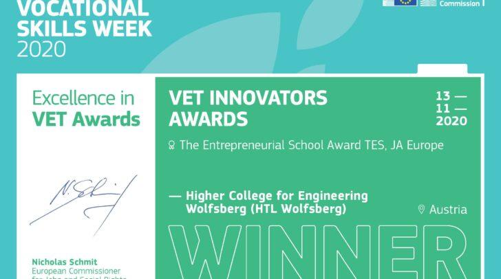 HTL Wolfsberg VET Excellence Award 2020