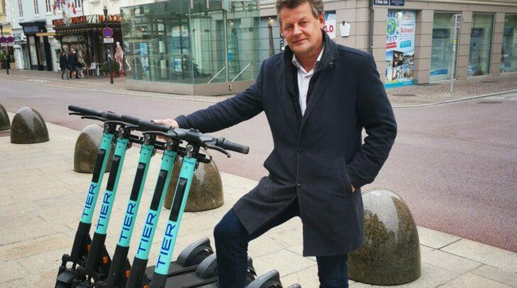 Die E-Scooter der Firma TIER sind für die Klagenfurter Alltagshelden während des Lockdowns kostenfrei nutzbar.