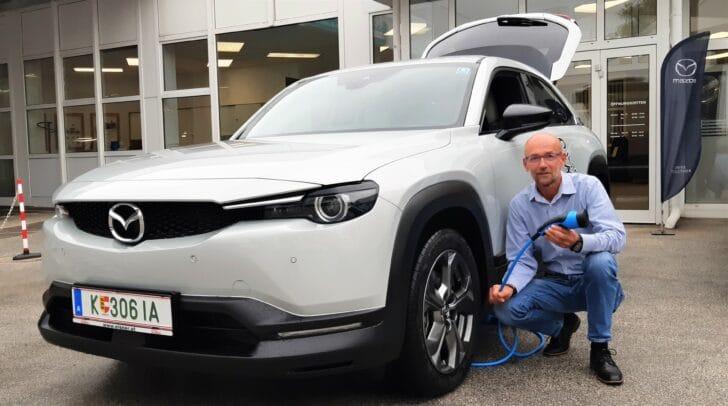 Mit dem neuen vollelektrischen Mazda MX-30 sparst du bares Geld!