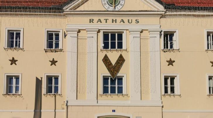 Der Parteienverkehr im Völkermarkter Rathaus wurde vorerst eingestellt.