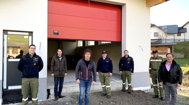 Markus Assinger, LAbg. Luca Burgstaller, STR Günter Pernul, Stefan Assinger, Dominik Mörtl, Meinhard Janschitz und Bgm. Siegfried Ronacher