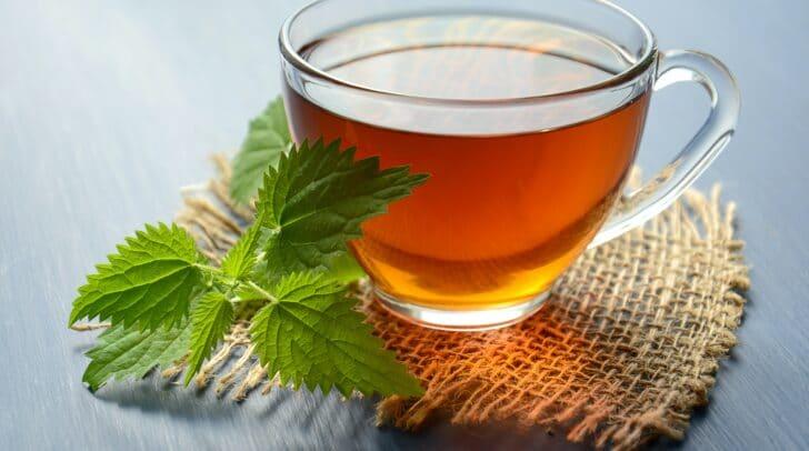 Eine Tasse Tee tut Körper und Geist gut.