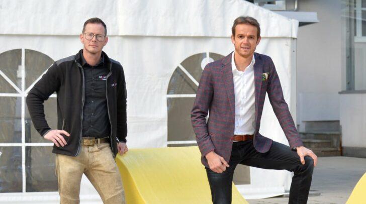 Hannes Dopler, Sprecher des WK-Beirats und Markus Polka, Geschäftsführer des WK-Beirats