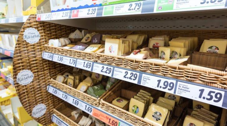 In Wolfsberg wird es in Zukunft auch eine gut gefüllte Käsetheke geben.