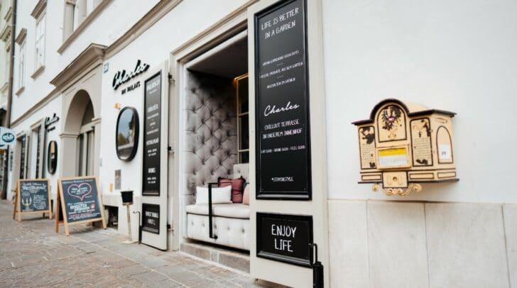 Das Restaurant Charles und das Hotel Palais26 eröffnen bereits am 19. Mai.