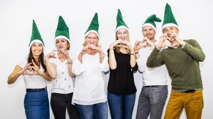 Das Steirische Team der Wichtelchallenge wünscht den Kärntner Wichteln viel Erfolg beim Wünsche-Erfüllen.