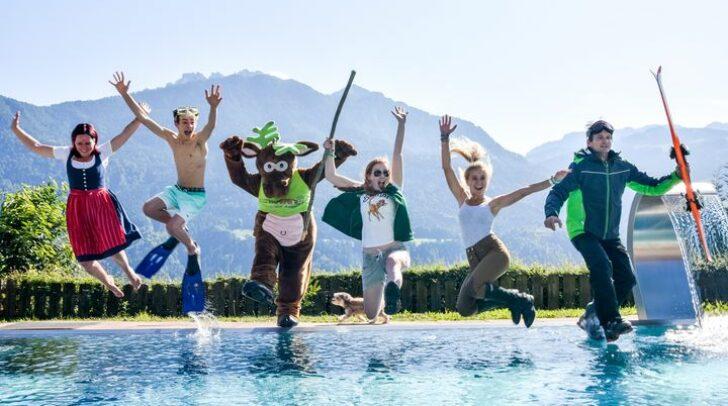 Bild von nawu´s Kinderhotel: Beim HolidayCheck Special Award 2021 belegte das Hotel in Kärnten Platz 1.