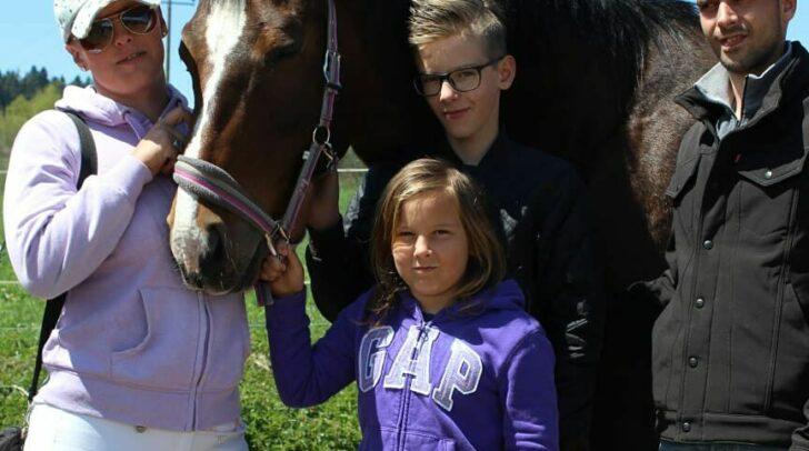 Kraft zieht die Klagenfurterin aus ihrer Familie und den Pferden.