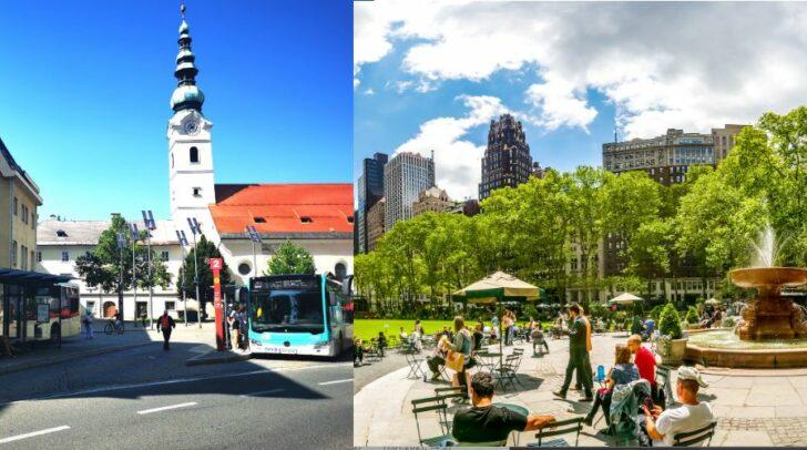 Ähnlich wie in großen Städten, soll die Klagenfurter Innenstadt grüner werden