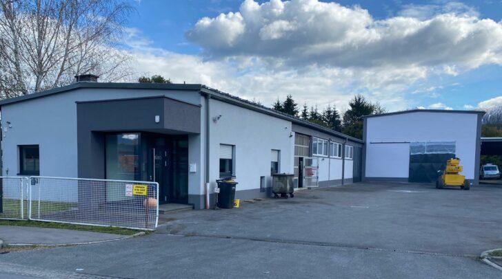 In diesen Räumlichkeiten wird am Montag eine neue KFZ-Werkstatt eröffnet.