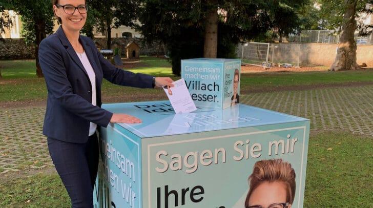 Katharina Spanring wird sich weiterhin im Villacher Gemeinderat mit viel Engagement einbringen.