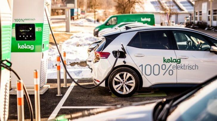An 80 Ladestationen in ganz Österreich können E-Autos aufgeladen werden.