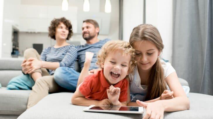 Weil Sicherheit wichtig ist: In einer Nexliving Eigentumswohnung kannst du die Zukunft deiner Kindern positiv gestalten.