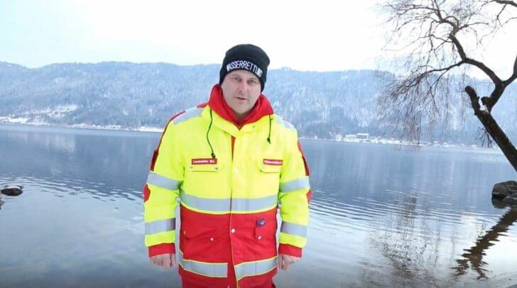 Helmut Weissensteiner, landesweiter Stellvertreter der Wasserrettung Kärnten und Einsatzstellenleiter der ÖWR Sattendorf