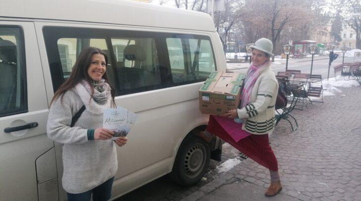 Obfrau Julia Petschnig (rechts) und Klagenfurt-Verantwortliche Nicky Mandelc sind täglich im Einsatz für den Verein.