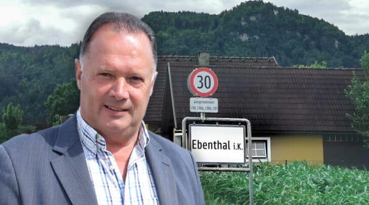 Franz Felsberger, scheidender Bürgermeister der Gemeinde Ebenthal