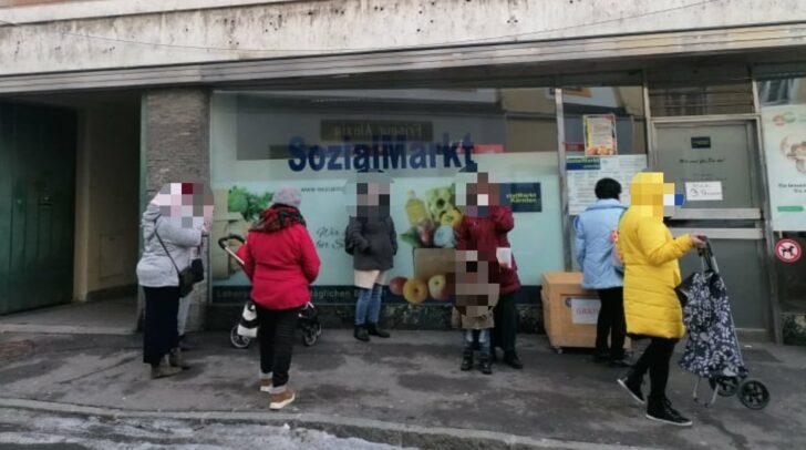 Auch in Villach gibt es einen SozialMarkt. Das Angebot ist dort aktuell gefragter denn je.