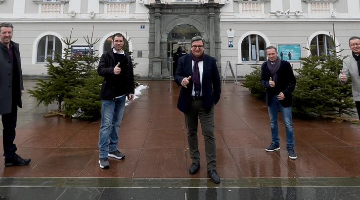 Das Kandidatenteam des Team Klagenfurts-Liste Jandl stellt sich vor.