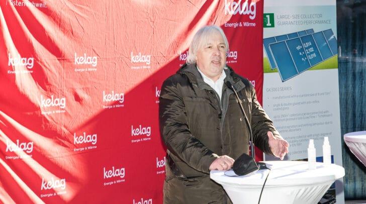 Adolf Melcher, der Geschäftsführer der KELAG Energie & Wärme GmbH, freut sich über das Großprojekt in Friesach.